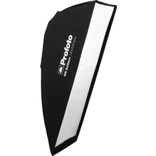 "Softbox Asimétrico Profoto HR 2.3 x 5"" vista lateral"