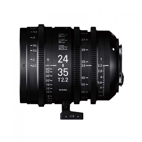 Lateral Sigma Cine 24-35mm T2.2 Canon EF