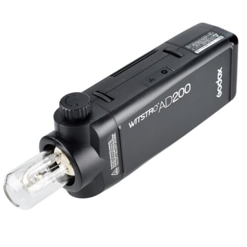 Witstro AD200 con tubo de flash