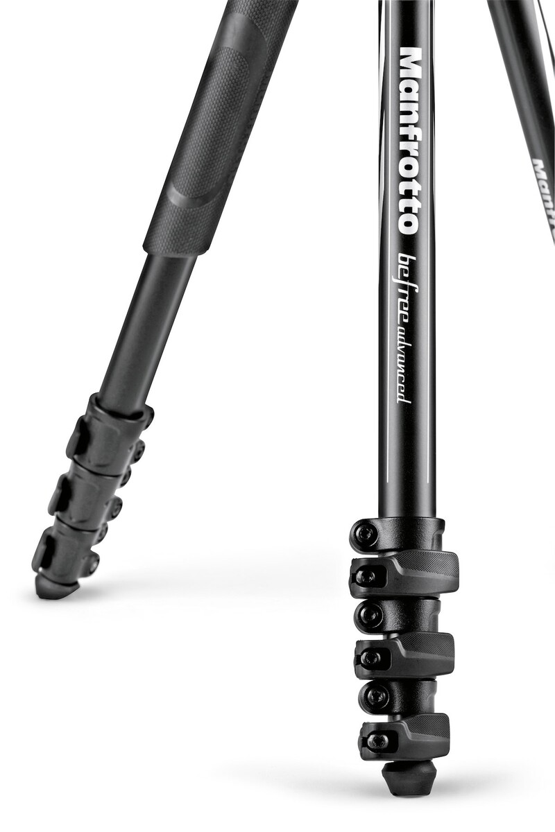 Detalle patas Befree Advanced Manfrotto